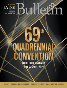 The Official Bulletin: 69 Quadrennial Convention Issue