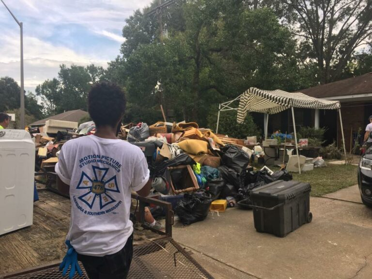 IATSE Donation to Disaster Relief Japan