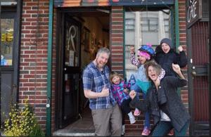Local 600 Member, Gareth Manwaring and Wife Convert Shop to Food Pantry