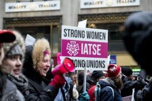 IATSE Women's Committee rally
