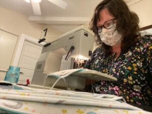Wardrobe Costume Craft, Janet Cadmus Talks Mask Making