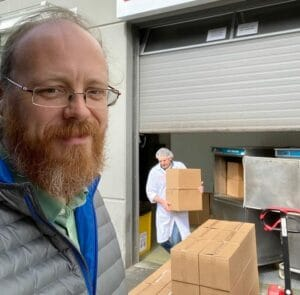 Local 669 Member, Luke Campbell, Teams with Non-Profit to Deliver Meals