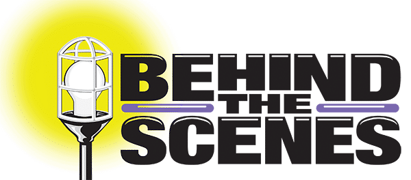 Behind the Scenes logo and header