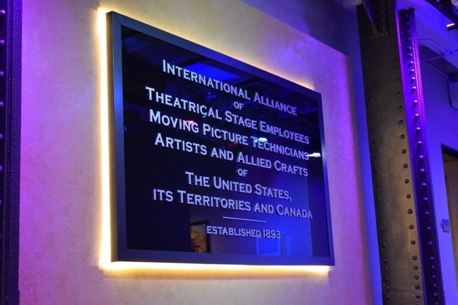 IATSE International plaque